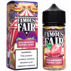 Famous Fair - Strawberry Pound Cake - 100ml