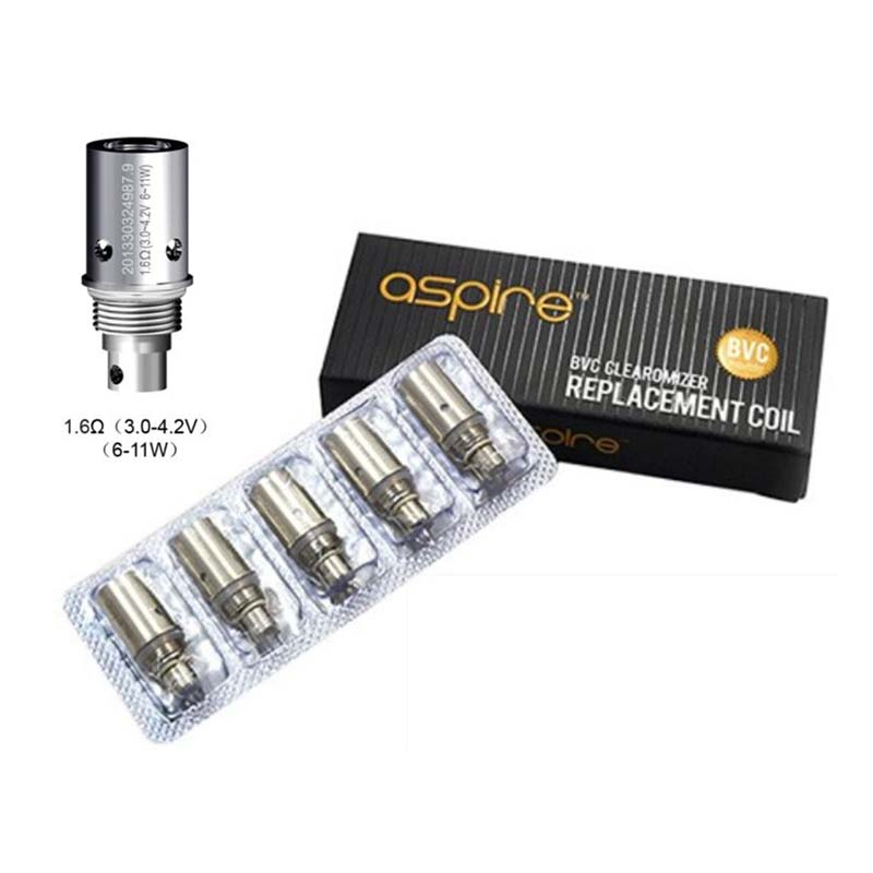 ASPIRE K Lite 1.6ohm Replacement coils - 5 pack