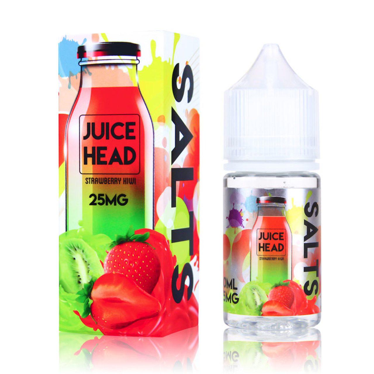 Juice Head 30ml Nicotine Salts Ejuice Strawberry Kiwi