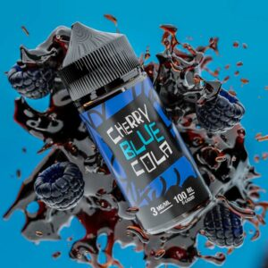 Juice Man Cherry Blue Cola - 100ml