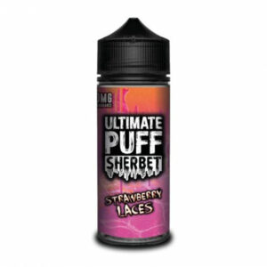 Ultimate Puff Sherbet - Strawberry Laces - 120ml
