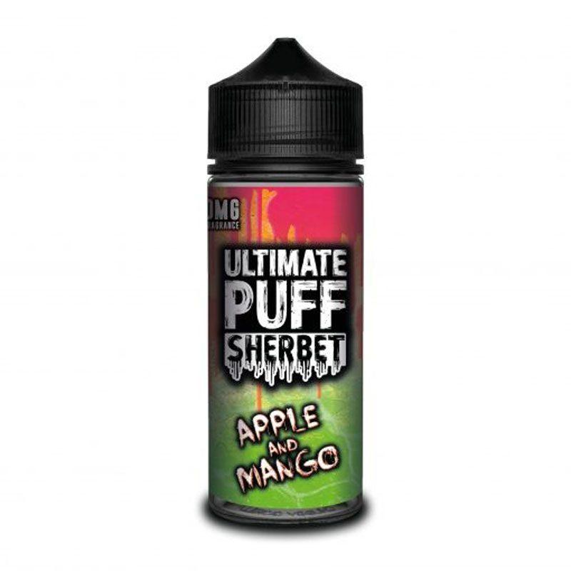 Ultimate Puff Sherbet - Apple & Mango - 120ml