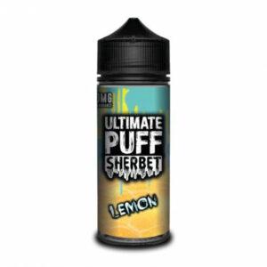 Ultimate Puff Sherbet - Lemon - 120ml