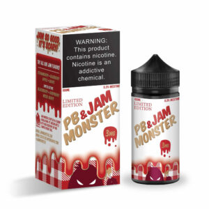 Jam Monster Strawberry PB And JAM Vape Juice 100ml