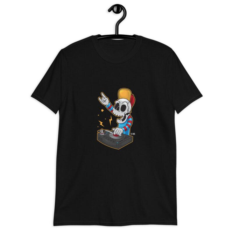 Skull Series DJ Men's Tshirt
