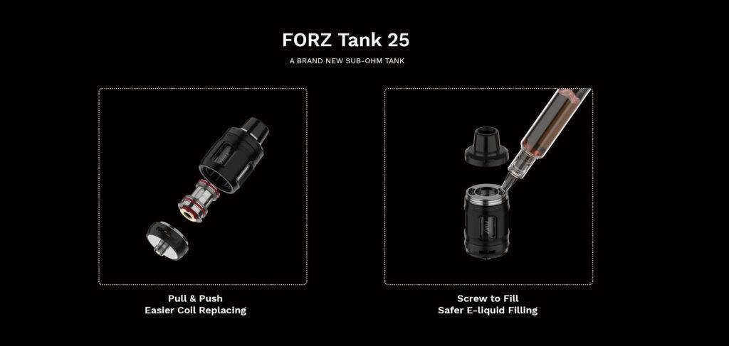 Vaporesso FORZ TX80 kit